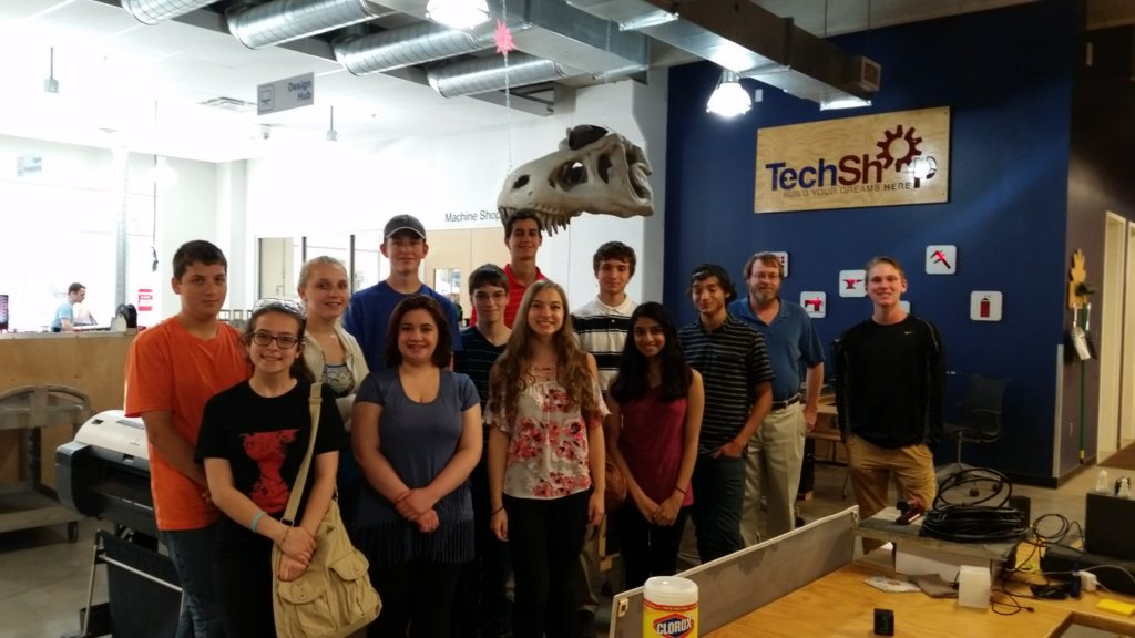 Grow a Generation 2016 STEM Careers Tour TechShop 7